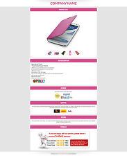 Inserzione eBay Templates, eBay AUCTION template per telefono cellulare e l'elettronica