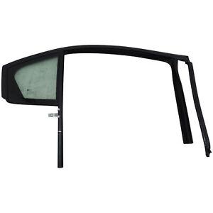 2014-15 Chevy Cruze Fixed Rear Glass w/Upper Glass Channel Strip RH OEM 94785817