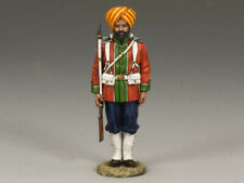KING & COUNTRY SONS OF EMPIRE SOE004M LUDHIANA SIKHS REGT. STANDING AT ATTENTION