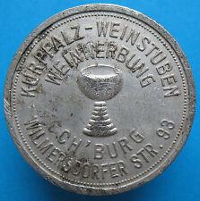 Old Rare Deutsche token- Charlottenburg -1 glass wine -UNLISTED -mehr am ebay.pl