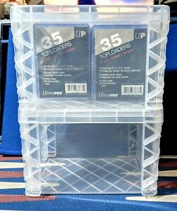 Toploader Storage Box Vault ✅ All New Design HOLDS 120 CARDS IN TOPLOADERS