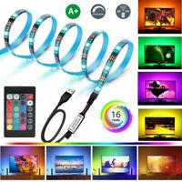 5050 LED Waterproof USB Powered RGB Strip Lighting TV Computer Background Light