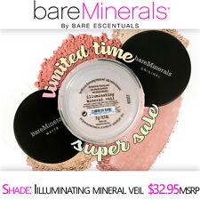Bare Escentuals bareMinerals ILLUMINATING MINERAL VEIL Face Powder SEALED 9g XL