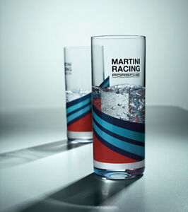 Porsche Driver's Selection Long Glasses- Martini Racing