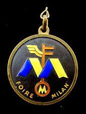 1960 Foire de Milan Milan Fair Expo Badge Medal Numbered # 69247 by Bertoni