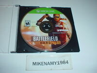 BATTLEFIELD HARDLINE game only in plain case for Microsoft XBOX ONE