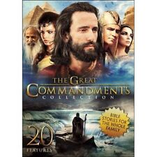 The Great Commandments Collection (DVD, 2016, 3-Disc Set)David & Goliath