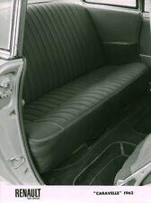 Photo de presse ancienne voiture automobile intérieur Renault Caravelle 1962
