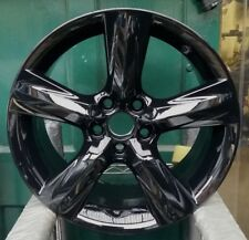 "LEXUS IS300h SPORT 1X 18"" GENUINE 5 SPOKE GLOSS BLACK REAR 8.5J ALLOY WHEEL S946"