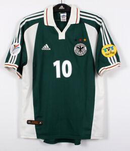 2000 Germany Away S/S No.10 MATTHAUS EURO 00 jersey shirt trikot 00-01