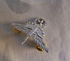 NEW Metal Silver US Army Free Fall Jump Master Badge Pin Insignia Army Badge
