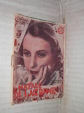 NATALE DI LACRIME Arthur Van Dick Editrice Nicolli I Romanzi del Cigno 48 1934