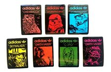 Adidas Star Wars Darth Vader Stormtrooper Skateboard Laptop Luggage Stickers Set