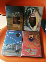 4 Dvd Pink Floyd the Wall live at Pompei Dark side of the moon Roger Waters