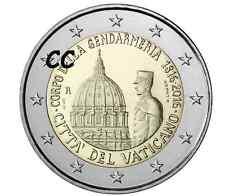 Vaticaan 2016 2€ BU 200 Jaar Vaticaanse Gendarmerie