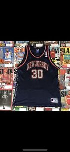 Nba Vintage Jersey Size 48 XL Nets Kerry Kittles New Jersey