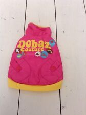 BNWT reversable Dobaz Couture Dog Coat Size XS