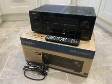 Denon AVR-X2300W 7.2 Channel 4K AV Receiver with Dolby Atmos & DTS:X