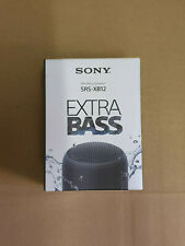 Sony SRS-XB12 Enceinte Portable Bluetooth Extra Bass Waterproof - Noir