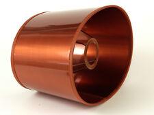 Eleganter Zeitloser Kupferfarbener Lack Lampenschirm Oval Für  Tischlampen E27