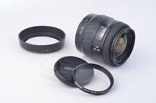 EXC++ MINOLTA AF 28-80mm f4-5.6 AF ZOOM LENS FOR MAXXUM OR SONY ALPHA, UV+HOOD