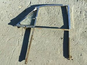 Jaguar MK2, Daimler 250 RF Chrome Door Window Frame with No Draught Ventilator