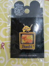 Disney Classics TV Movie Classic Bambi Retro TV pin LE