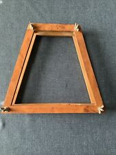 Vintage Wood Tennis Racquet Frame Holder Press with Wing Nuts - Wooden Racquets