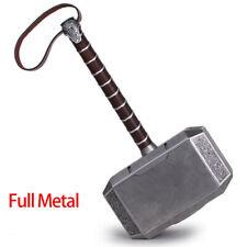 The Avengers Thor Hammer 1:1 Full Metal CATTOYS Replica Props Mjolnir Xmas Gift