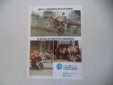 advertising Pubblicità 1979 MOTO BETA CR CROSS
