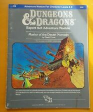 Advanced Dungeons & Dragons Module X4 Master of the Desert Nomads