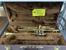 Buescher BU-7 Trumpet in Acceptable Condition Case and NO Mouthpiece