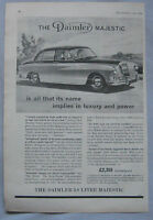 1959 Daimler Majestic Original advert No.2