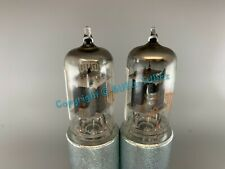 RCA 12AX7A Short Gray Plates Tubes Ring Getter * Platinum Matched on AT1000