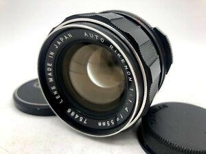 【Near MINT】 Auto Rikenon 55mm F/1.4 M42 Screw Mount Leica Summilux, SMC Takumar