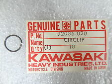 Kawasaki NOS NEW  92036-020 Valve Guide Circlip Z1 900 Superbike 1973-75