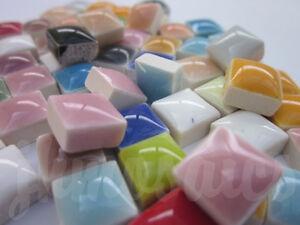 2300pcs Mosaic Tiles General Mixture 10mm - 30+ colours mix in 6 bags