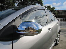 Chrome Door Side Rear View Mirror Garnish Cover for Mazda 3 BL 09-12