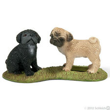 NEW Schleich 16383 Pug Puppy Puppies Dog Canine - RETIRED