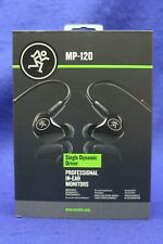 Mackie Profession In-Ear Monitors Single Dynamic Driver MP-120 Headphones