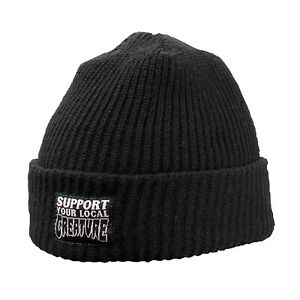 Creature Skateboard Support Beanie Black