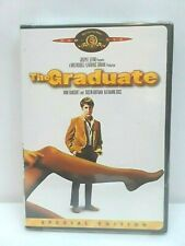 New The Graduate Dvd Anne Bancroft & Dustin Hoffman A 1967 Comedy Movie