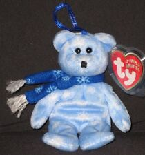 TY 1999 HOLIDAY TEDDY BEAR JINGLE BEANIE - MINT with MINT TAG