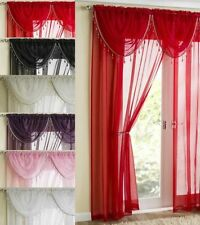 Polyester Contemporary Window Curtains