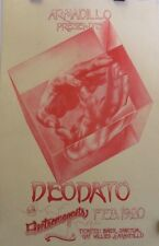 Deodato, Electromagnets | Orig. 1975 Armadillo World HQ Presents Concert Poster