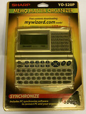 Sharp (YO-520P) Synchronize Memo Master Organizer w/ Back Light Display **NEW**