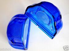 2x Azul Matrícula Luces Delantero Trasero de marcaje 12v Camión Trailer