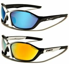 Xloop Wrap Mirrored Sunglasses for Men