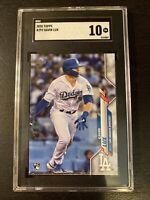 2020 Topps Gavin Lux Rookie Card RC #292 SGC 10 GEM MINT Dodgers