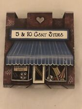 Brandywine Woodcrafts Welcome 5&10 Cent Store Table Top Decoration Mw 94